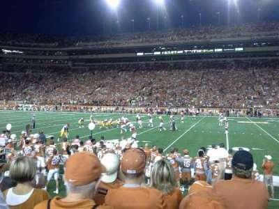Texas Memorial Stadium, sección: 4, fila: 5
