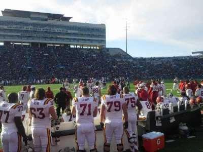 University of Kansas Memorial Stadium, sección: 22, fila: 1