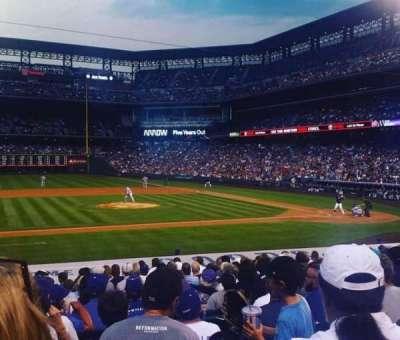 Coors Field, sección: 138, fila: 20, asiento: 11