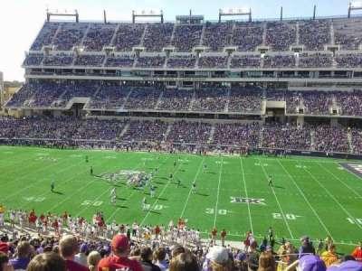Amon G. Carter Stadium, sección: 233, fila: Q