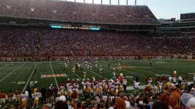 Texas Memorial Stadium, sección: 30, fila: 14, asiento: 9