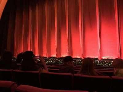 Radio City Music Hall, sección: Orchestra 3, fila: GG, asiento: 301-304