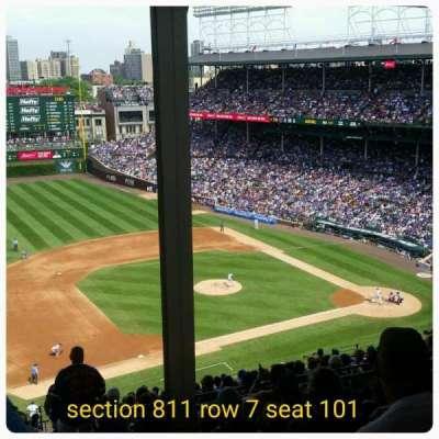 Wrigley Field, sección: 511, fila: 7, asiento: 101