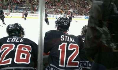 PNC Arena, sección: 105, fila: C, asiento: 4