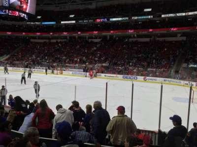 PNC Arena, sección: 116, fila: K, asiento: 1