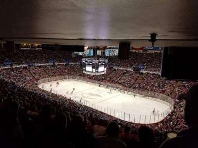 Joe Louis Arena, sección: 218A, fila: 27, asiento: 1