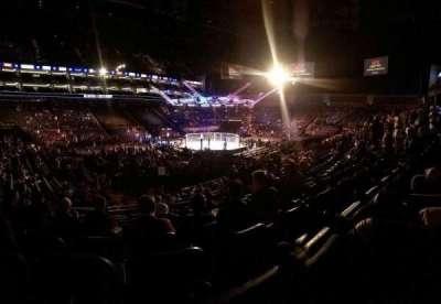 The O2 Arena, sección: 110, fila: S, asiento: 278