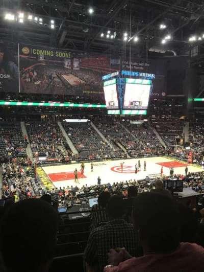 Philips Arena, sección: 213, fila: C, asiento: 12