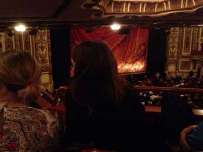 Cadillac Palace Theater, sección: Dress circle left, fila: mm, asiento: 13