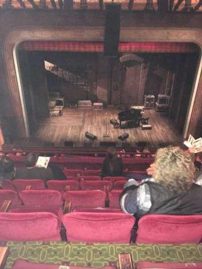 Walter Kerr Theatre, sección: Mezz, fila: G, asiento: 110