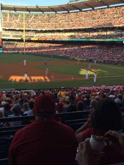 Angel Stadium, sección: 209, fila: C, asiento: 11