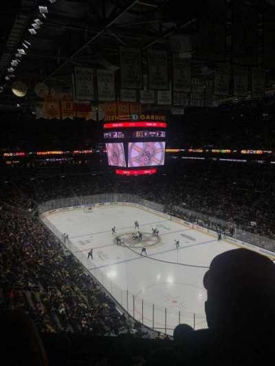 TD Garden, sección: BAL 311, fila: 5, asiento: 9