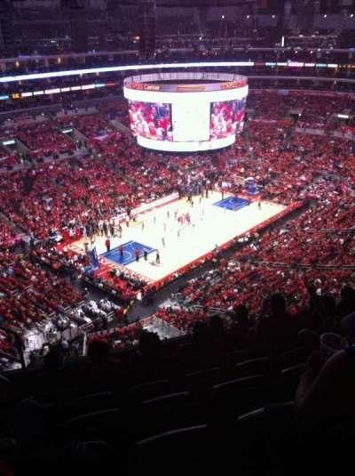 Staples Center, sección: 322, fila: 7, asiento: 10