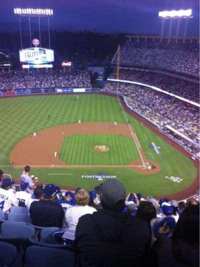 Dodger Stadium, sección: 13TD, fila: K, asiento: 12