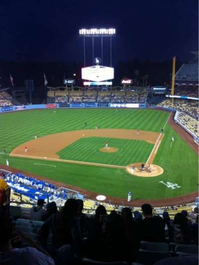 Dodger Stadium, sección: 7RS, fila: K, asiento: 15
