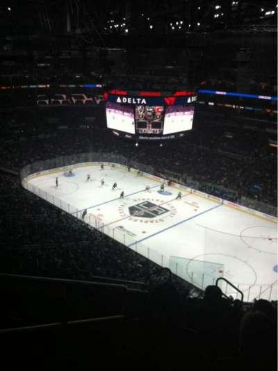Staples Center, sección: 314, fila: 10, asiento: 13