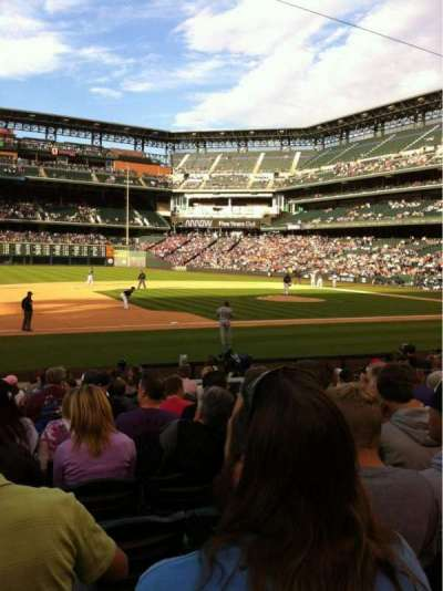Coors Field, sección: 140, fila: 15, asiento: 11