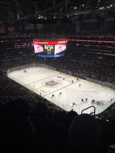 Staples Center, sección: 314, fila: 8, asiento: 2