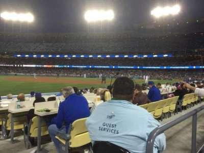 Dodger Stadium, sección: 39FD, fila: A, asiento: 1