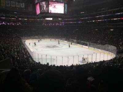 Staples Center, sección: 209, fila: 7, asiento: 12