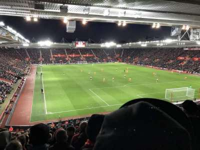 St Mary's Stadium, sección: Away Section Block 46, fila: LL, asiento: 1192