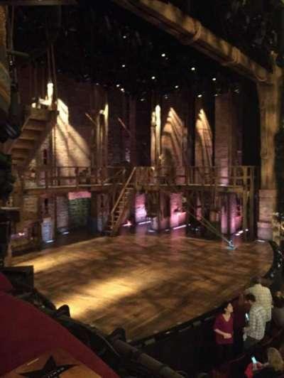 Richard Rodgers Theatre, sección: Box B, fila: 1, asiento: 3