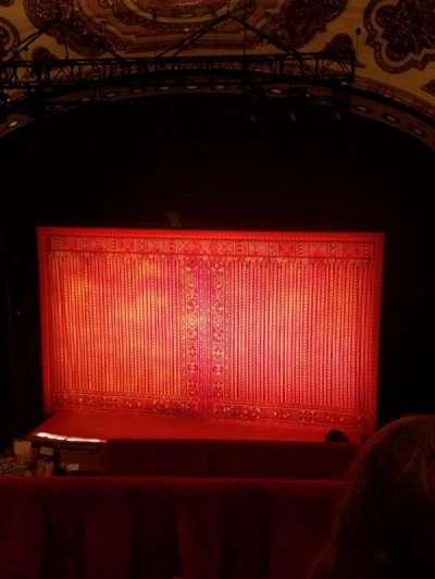 Cadillac Palace Theater, sección: Balcony RC, fila: E, asiento: 321