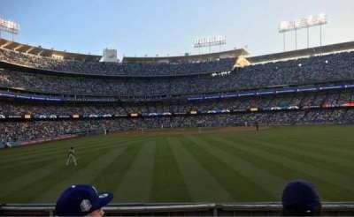 Dodger Stadium, sección: 308PL, fila: C, asiento: 7