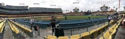 Dodger Stadium, sección: 32FD, fila: C, asiento: 2