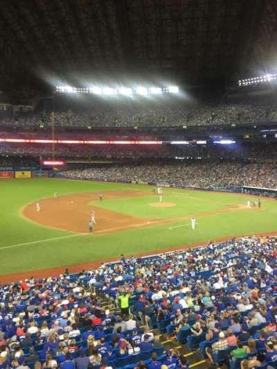Rogers Centre, sección: 233L, fila: 1, asiento: 105