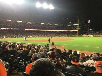 AT&T Park, sección: 103, fila: 11, asiento: 10