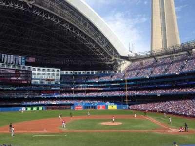 Rogers Centre, sección: 126, fila: 28, asiento: 9