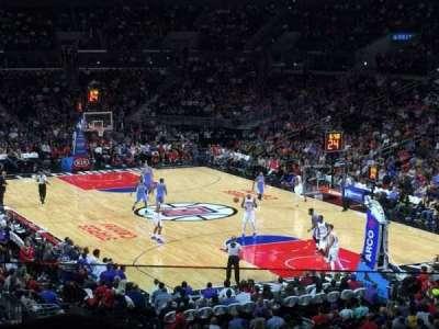 Staples Center, sección: 218, fila: 8, asiento: 22