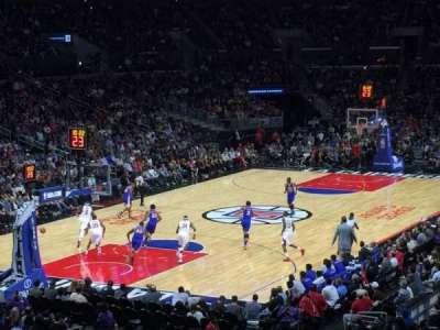 Staples Center, sección: 205, fila: 6, asiento: 10