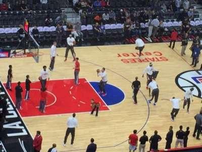 Staples Center, sección: 303, fila: 1, asiento: 14