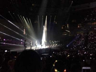 Honda Center, sección: 209, fila: G, asiento: 12