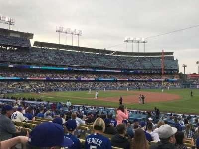 Dodger Stadium, sección: 32FD, fila: O, asiento: 6