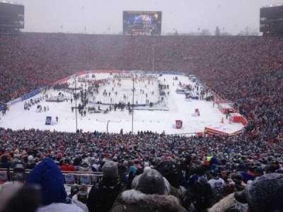 Michigan Stadium, sección: 33, fila: 85, asiento: 9