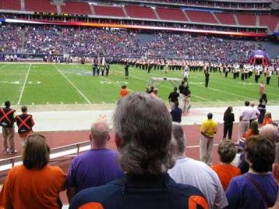 NRG Stadium, sección: 107, fila: E, asiento: 9