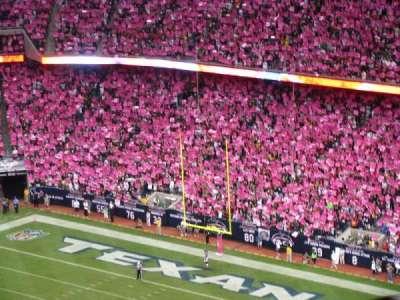 NRG Stadium, sección: 612, fila: S, asiento: 22