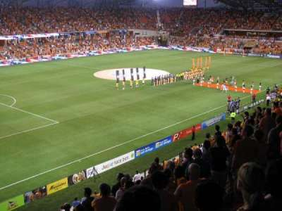 BBVA Compass Stadium, sección: 210, fila: K, asiento: 18