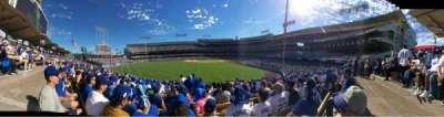 Dodger Stadium, sección: 303PL, fila: L, asiento: 4