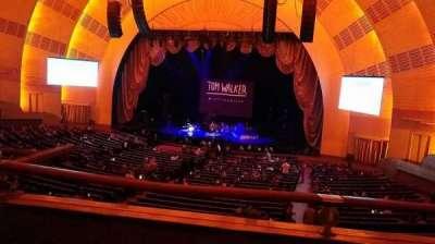 Radio City Music Hall, sección: 1st Mezzanine 2, fila: A