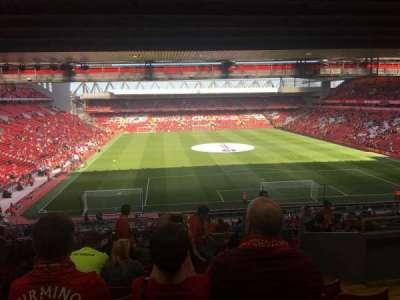 Anfield, sección: 304, fila: 58, asiento: 0145