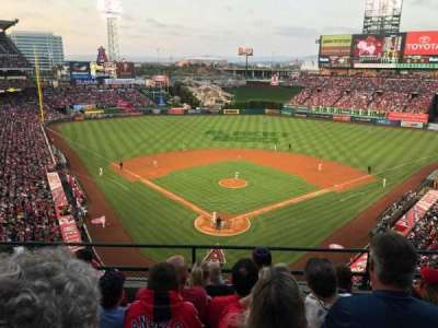 Angel Stadium, sección: V419, fila: E, asiento: 10