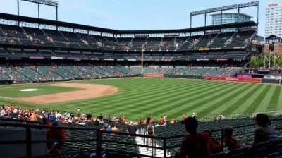 Oriole Park at Camden Yards, sección: 9