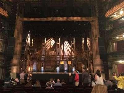 PrivateBank Theatre, sección: Orchestra C, fila: R, asiento: 109