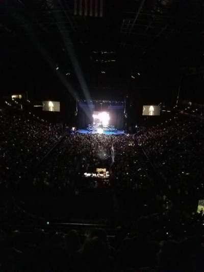 Jacksonville Veterans Memorial Arena, sección: 312, fila: F, asiento: 5