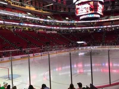 PNC Arena, sección: 109, fila: J, asiento: 6