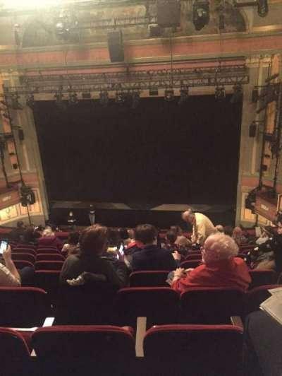Neil Simon Theatre, sección: Mezz, fila: L, asiento: 121